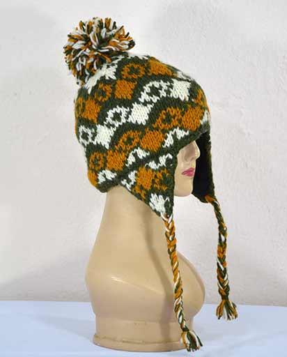 Hand Knit Woolen Hats