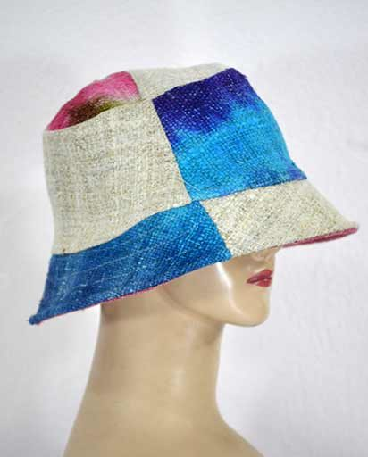 Patchwork Tie Dyed Hemp Hats