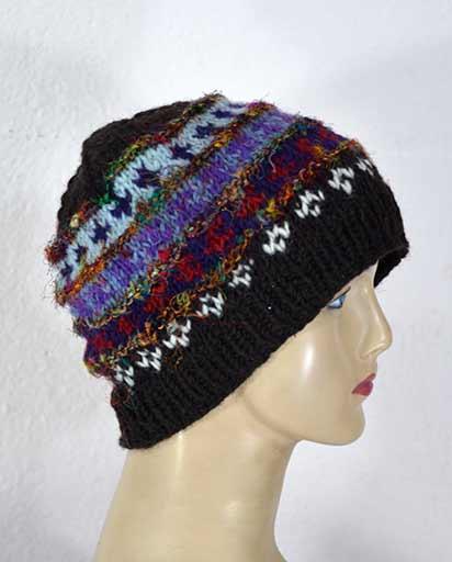 Woolen Recycled Silk Hats