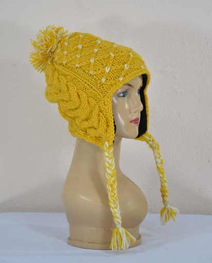 Himalayan Hand Knit Woolen Hats