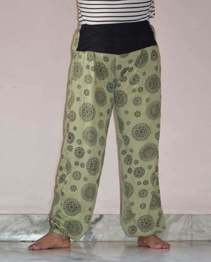 Mandala Cotton Trousers