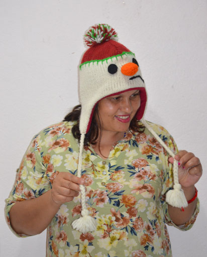Adult Woolen Cartoon Hats