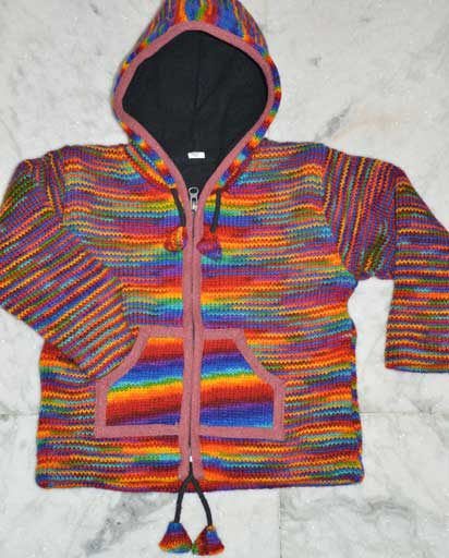 Kids Fleece Lined Woolen Jackets