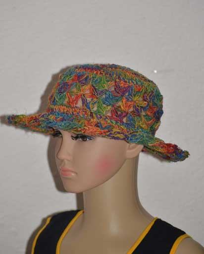 Childen's Netted Hemp Hats