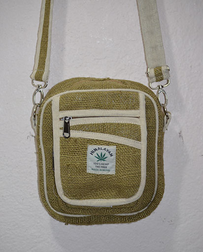 Small Hemp Crossbody Bags