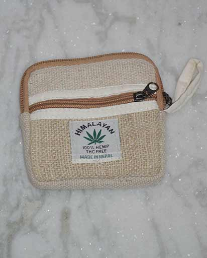 Himalayan Hemp Coin Purses