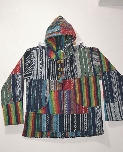 Joined Patches Cotton Jacket