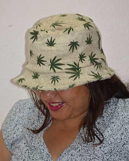 Hemp Leaf Hats
