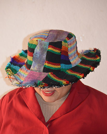 Colorful Patchwork Patch Hats