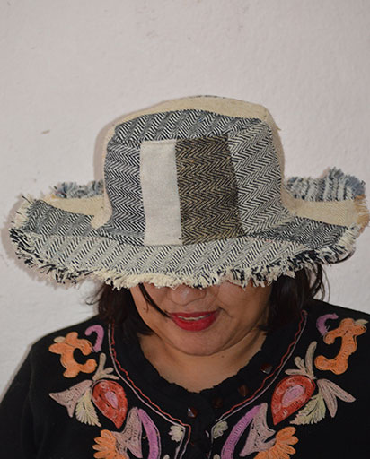 Fully Patchwork Cotton Hats