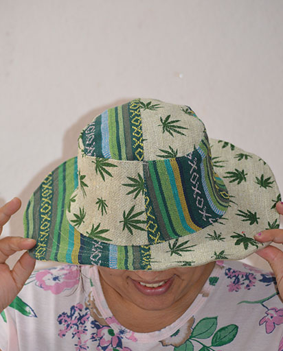 Half And Half Hemp Patch Hats