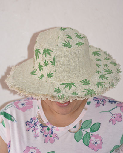 Leaf Hemp Patch Hats