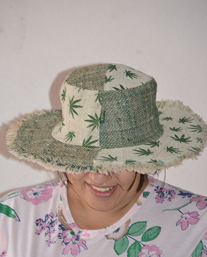 Summer Patchwork Hemp Hats